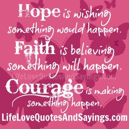 Hope-is-wishing-something...