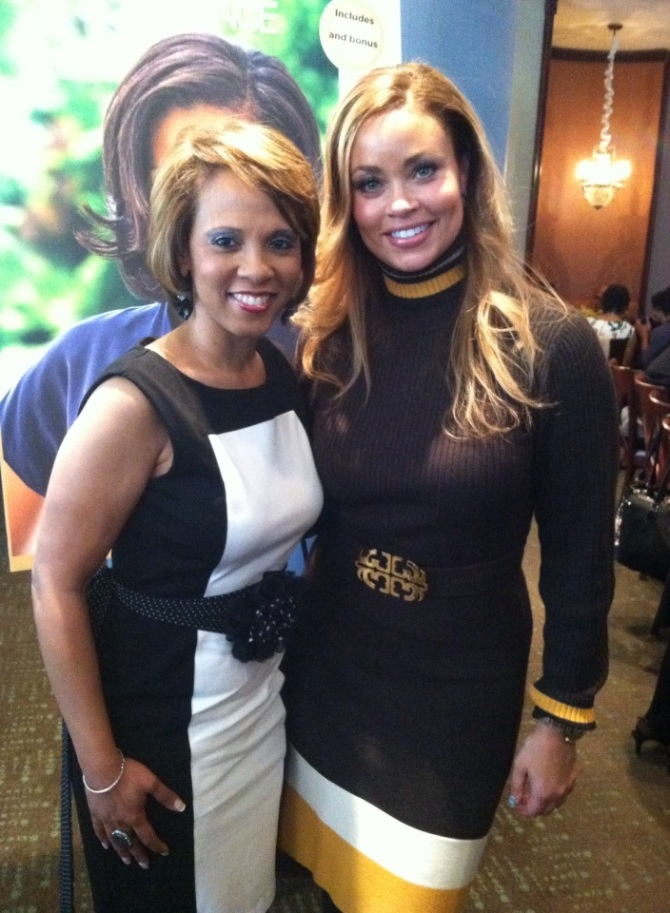 Former Model & First Lady Gizelle Bryant with Sophia