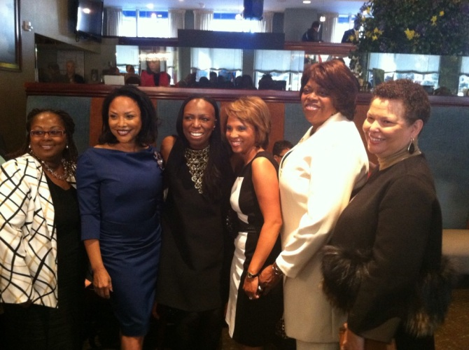 Actress Lynn Whitfield, Mikki, Sophia, & Ambassador
