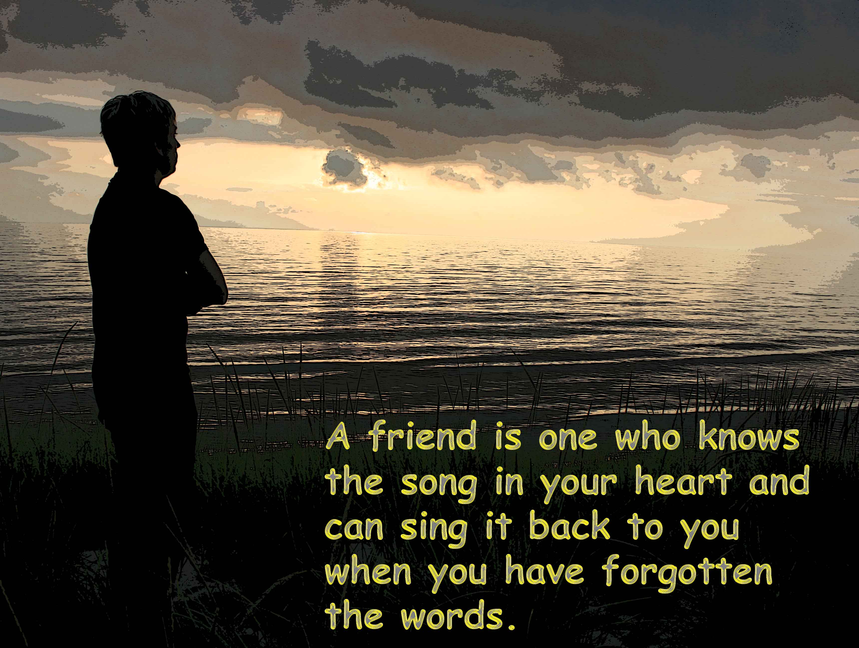 New Quotes About Friendship New Sunday Sentiment Faithful Friendsdo You Have Them In Your